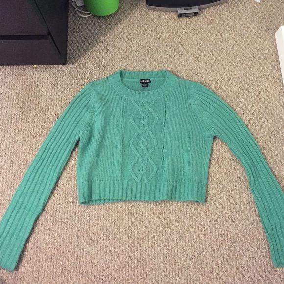 Sweater Cropped sweater, long sleeve. Super warm! Wet Seal Sweaters Crew & Scoop Necks