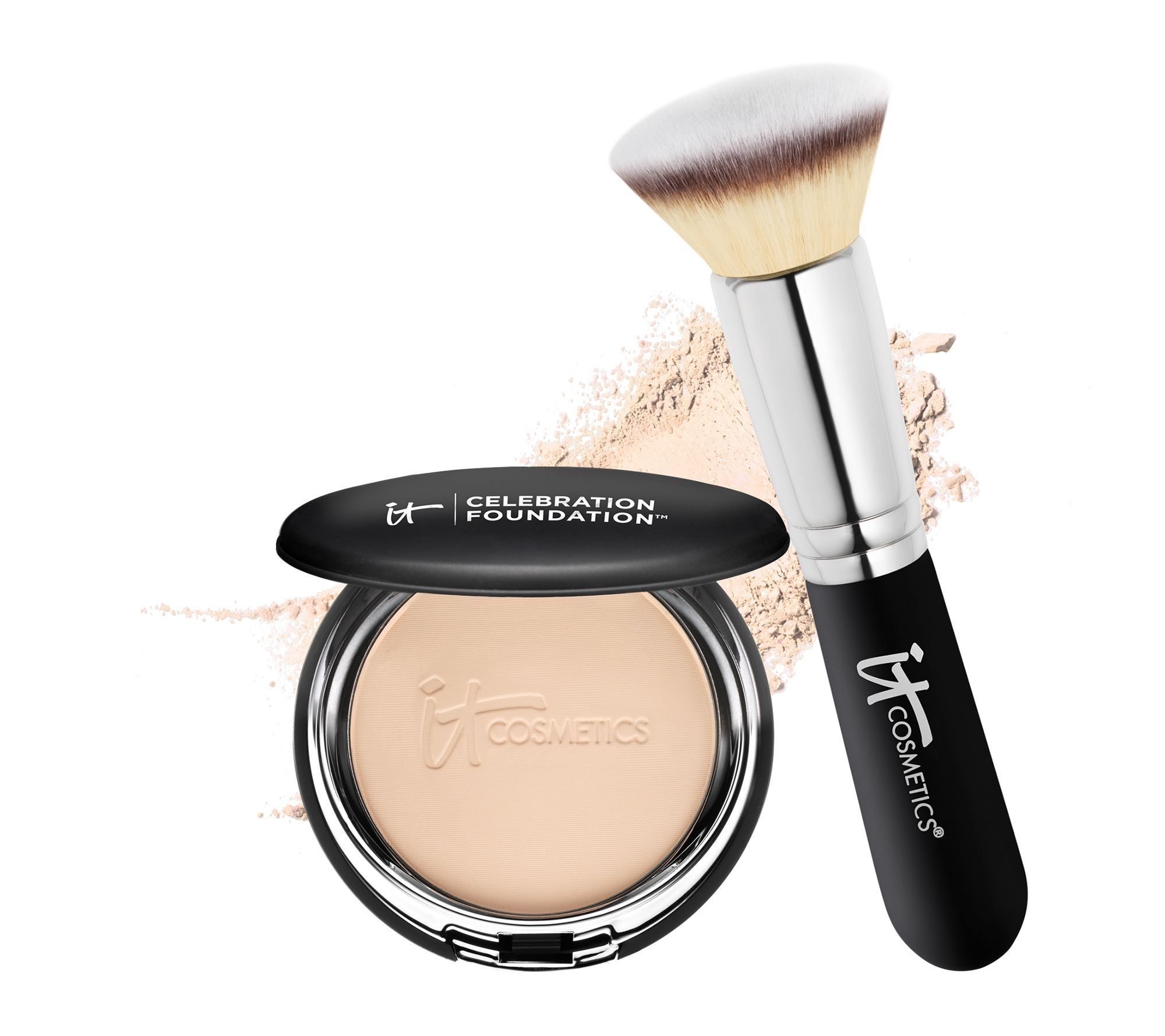 IT Cosmetics AntiAging Celebration Foundation with Brush