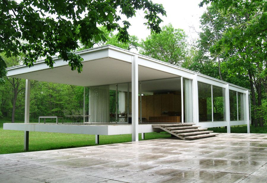 Farnsworth House Ludwig Mies Der Rohe farnsworth house 1946 51 mies der rohe minimalism
