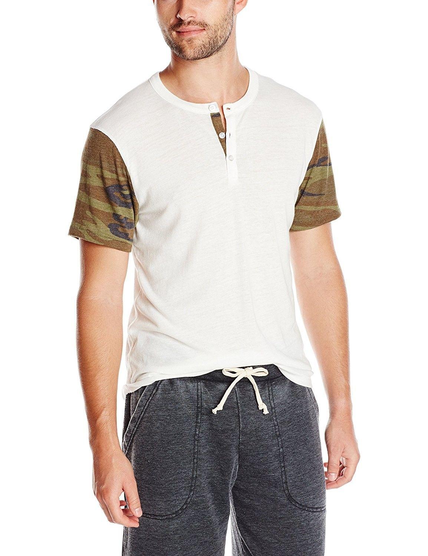 03e9f88c3 Men's Printed Home Run Tee - Eco Ivory/Camo - CV11QL78LQX,Men's Clothing,  Shirts, Henleys #men #fashion #style #outfits #gift #Henleys