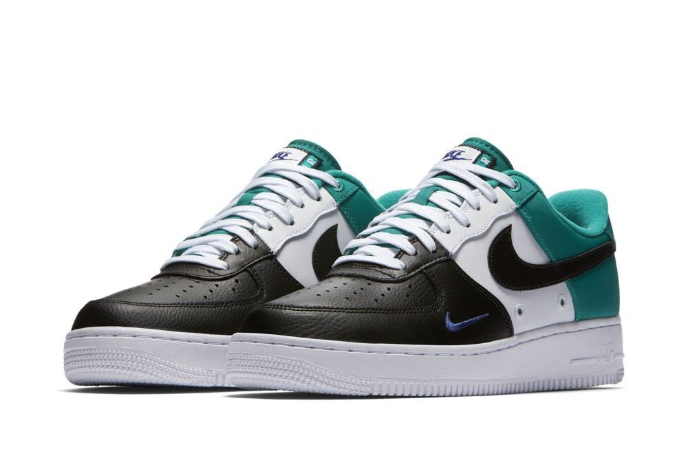Nike Air Force 1 Low 07 LV8 Mini Swoosh Neptune Green-3 | Sneakers |  Pinterest | Nike air force, Air force and Minis