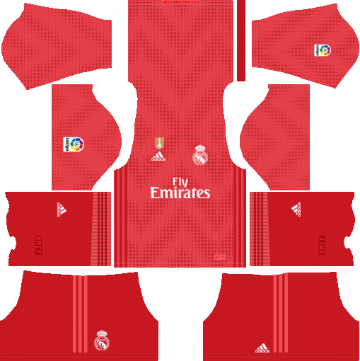 Dream League Soccer Real Madrid Kits 2018-2019 URL 512x512 | Camisa real  madrid, Camisas de futebol, Uniformes futebol