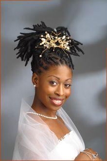 Tremendous 1000 Images About Wedding Styles For Locs Dreadlocks Braids Short Hairstyles For Black Women Fulllsitofus