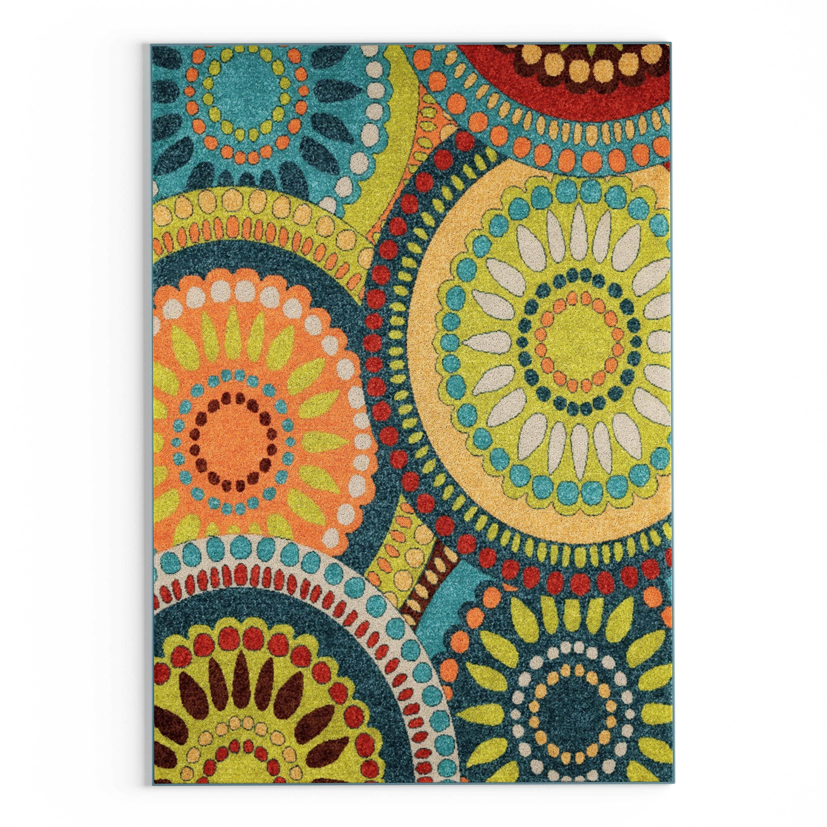 Carolina Weavers Indoor Outdoor Cocamo Collection Color Spectrum