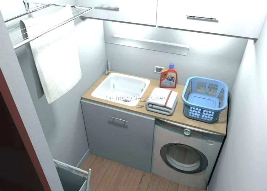 small laundry sink laundry room size
