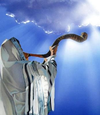 Image result for ancient israel sounding the shofar