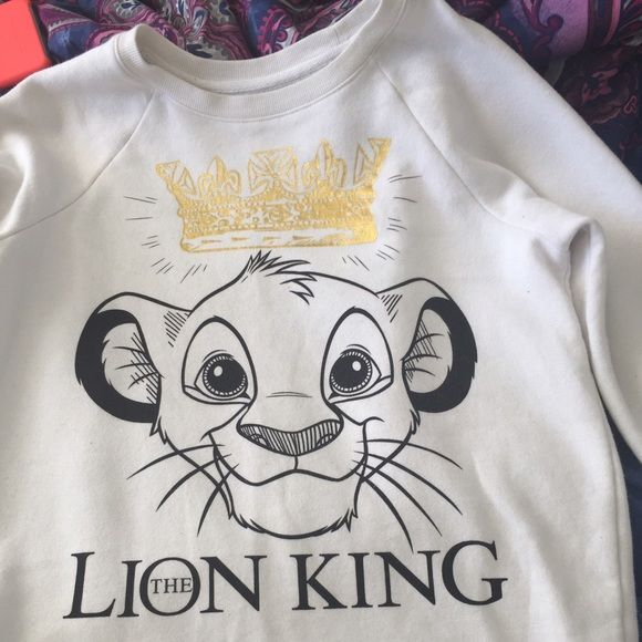 Lion King sweatshirt forever 21 Size small Lion King sweatshirt from forever 21. Forever 21 Sweaters
