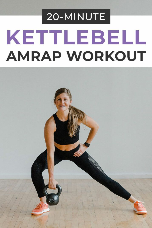 20-Minute Kettlebell AMRAP Workout