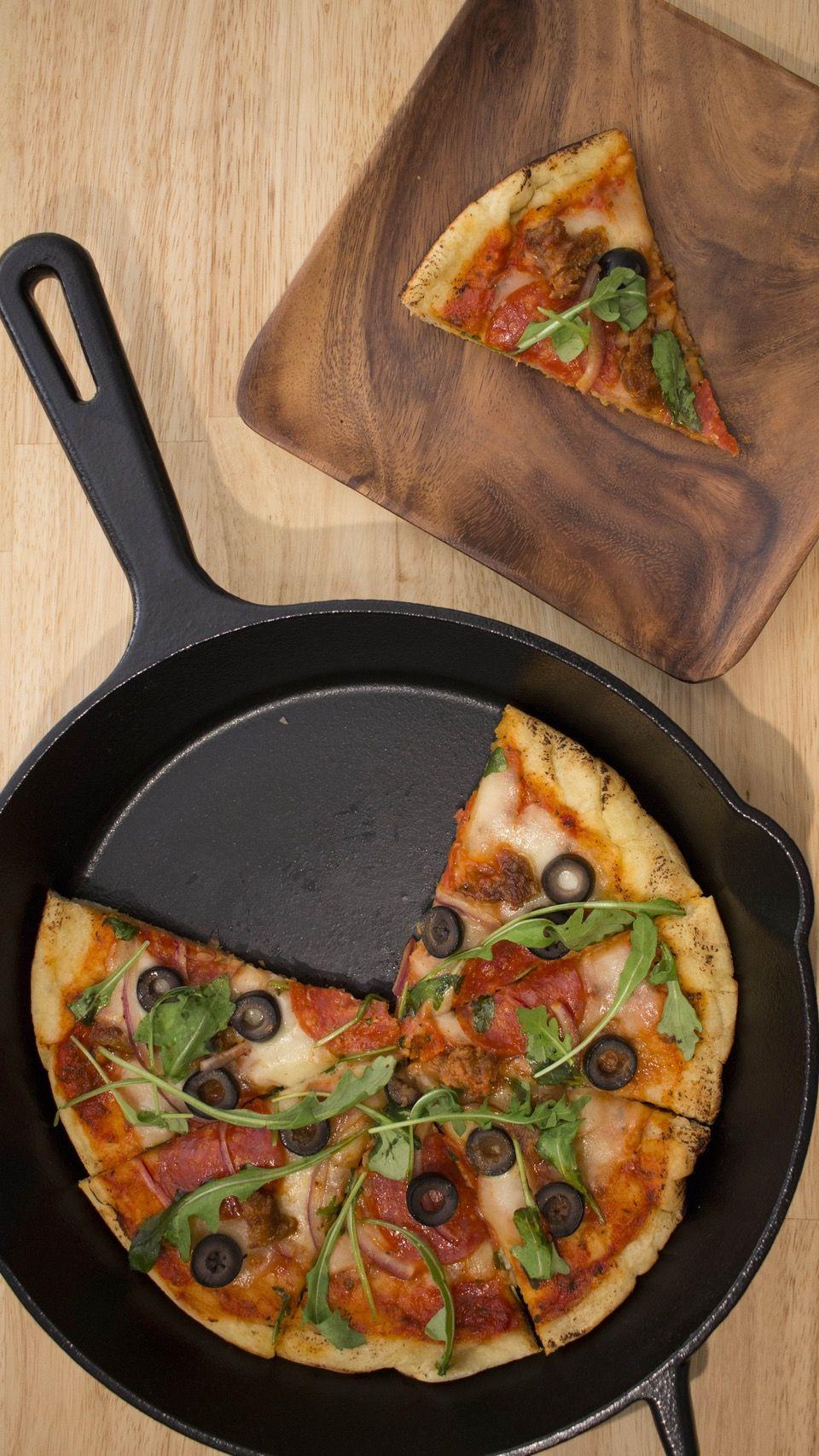 Stovetop Pizza ~ Recipe | Tastemade