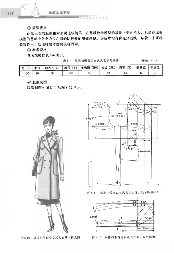 Garment pattern design #sewing #patternmaking | modelagem casaco ...