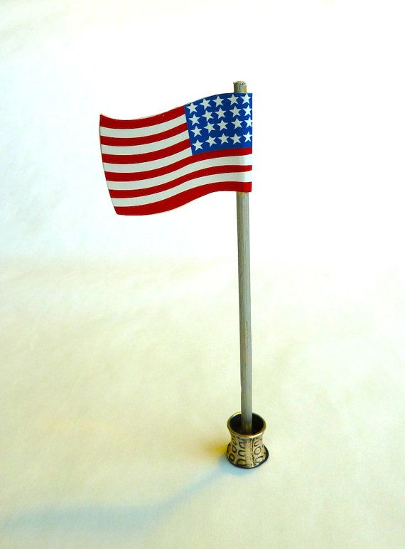 $2.99 American Flag that stands alone.