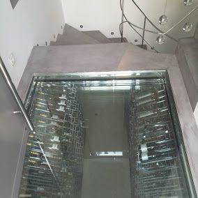Espace Cave A Vin Sur Mesure Sous Escaliers Villa P Design