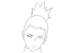How To Draw Sasuke Uchiha Face Dessins Faciles Dessin Anime