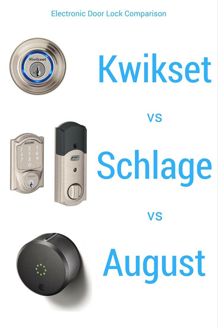 Kwikset Premis vs Schlage vs August - Which Smart Lock Wins