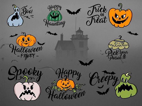 Halloween Pumpkins clipart Jack o lantern clipart pumpkin ...