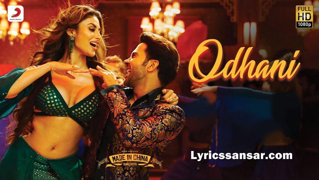 Odhani Lyrics Neha Kakkar & Darshan Raval Made in