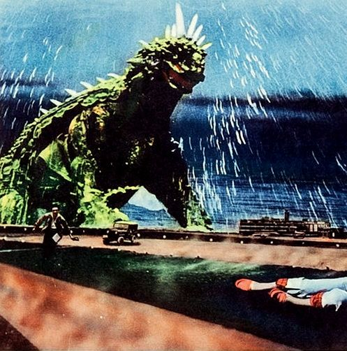 Vintage Sci Fi Horror Movie Poster Godzilla 1965 Invasion: Giant Monster Varan (1958) Aka Varan The Unbelievable