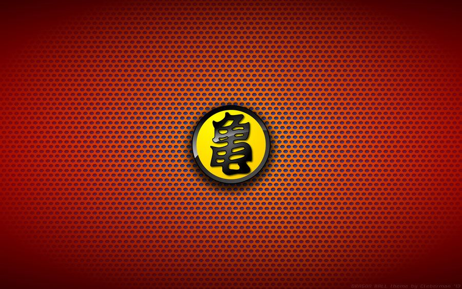 Wallaper Dragon Ball Turtle Logo Yellow By Kalangozilla