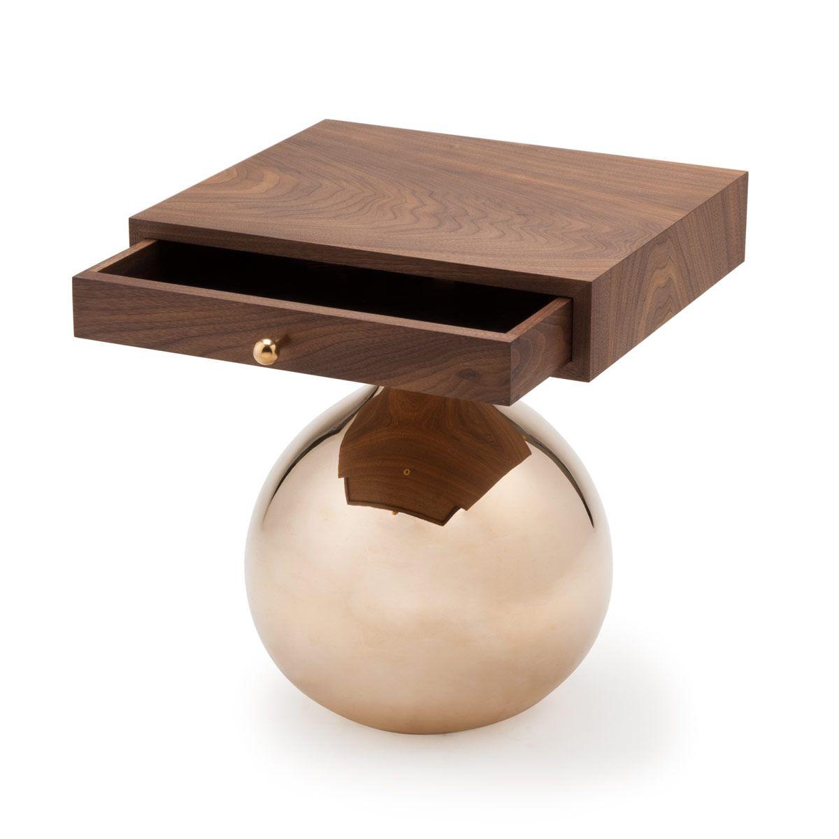 Bauble side table amy somerville 분위기포인트컬러 pinterest