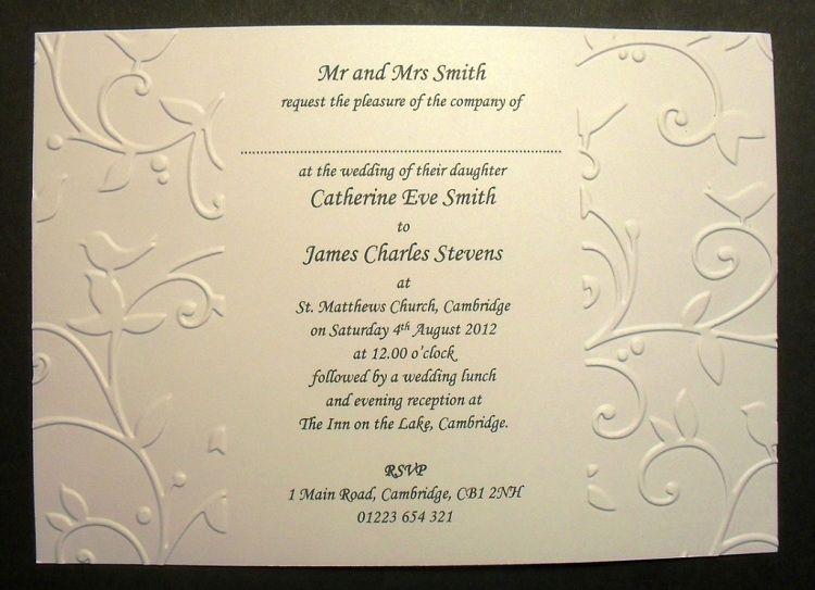 Spanish Wedding Invitations Catholic Weddinginvitation Wedding Invitation Wording Examples Wedding Invitation Content Wedding Invitations Uk
