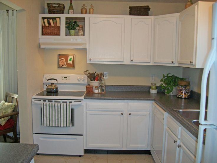 malerei alte küchenschränke weiß - küchenmöbel  - #
