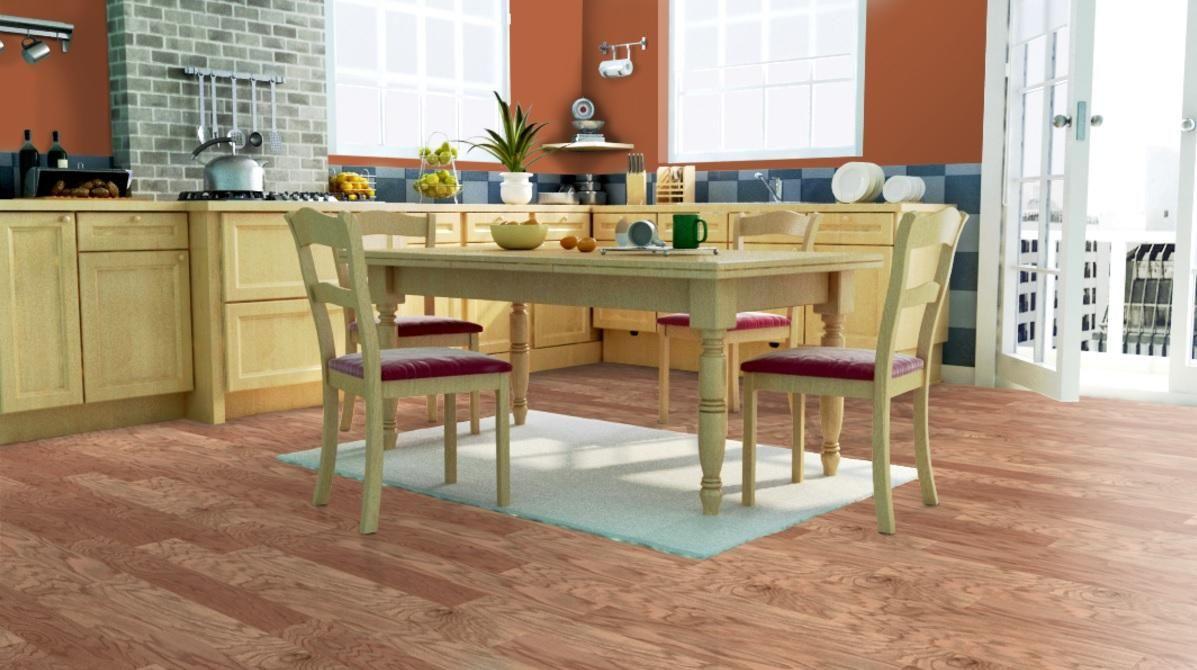 Mohawk Red Oak Natural Click Together Hardwood Flooring