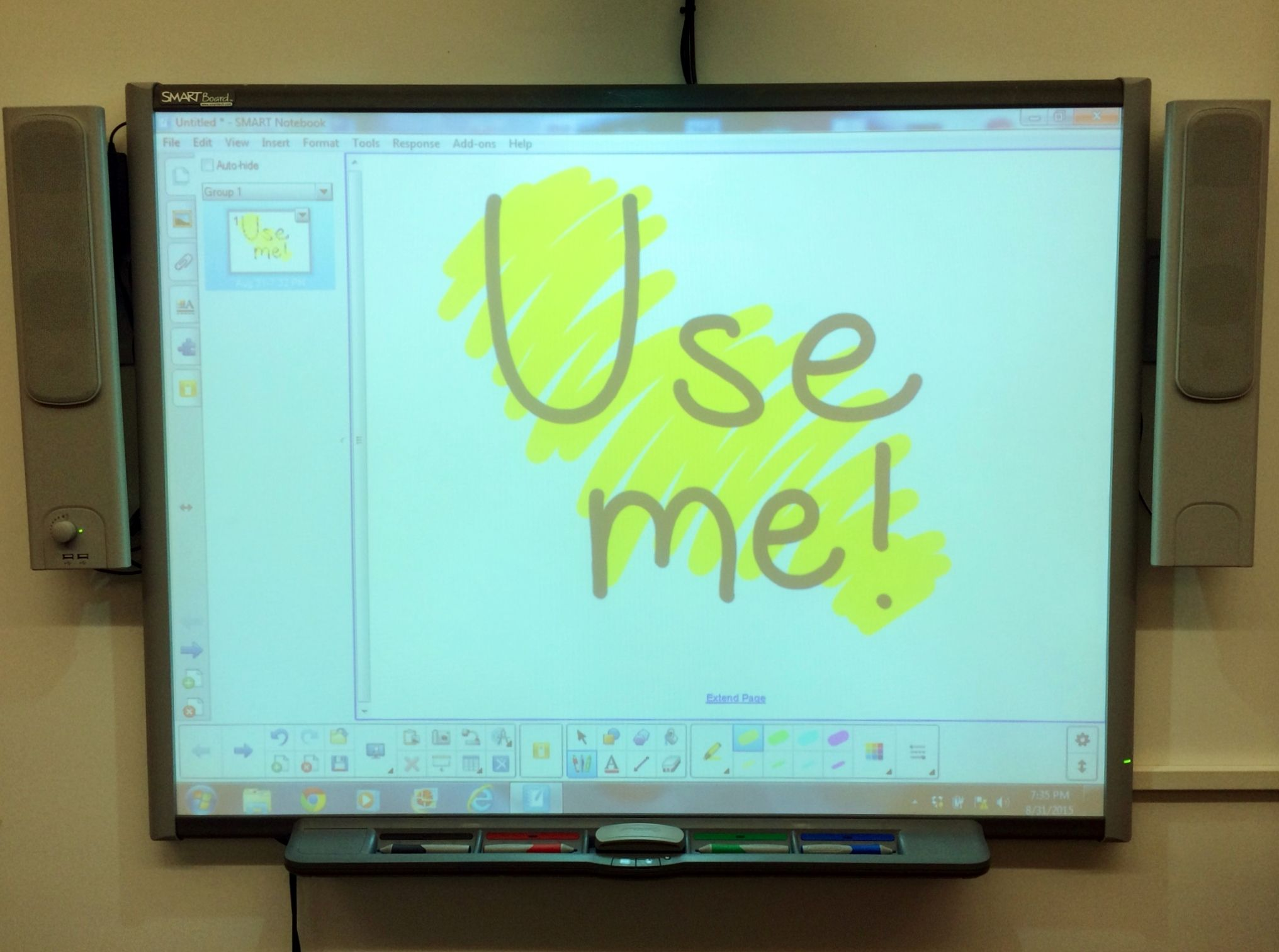 make this the year to use your interactive whiteboard for more than hanging artwork use - Electronic Whiteboard