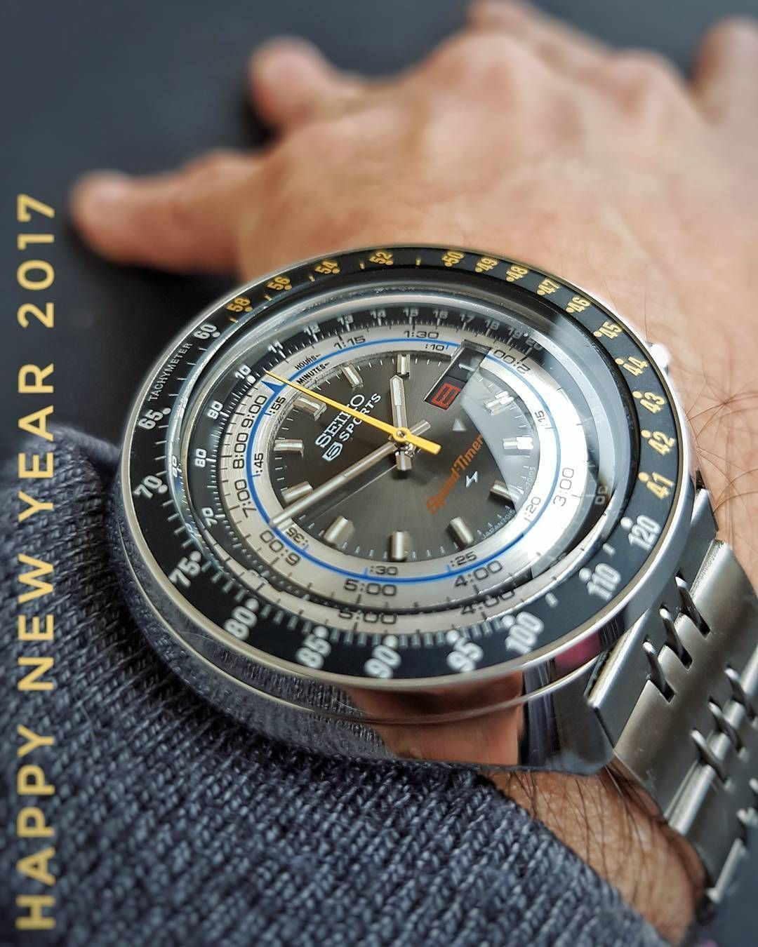 0409f1440e2 Vintage Seiko 7015-7010 - Chronograph Automatic - Flyback - 5 Sports  Speed-Timer - from 1972.
