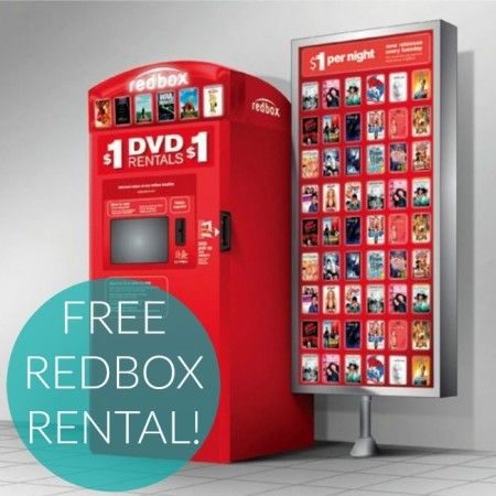 Free Movie Rentals are the best! Don't miss your Free