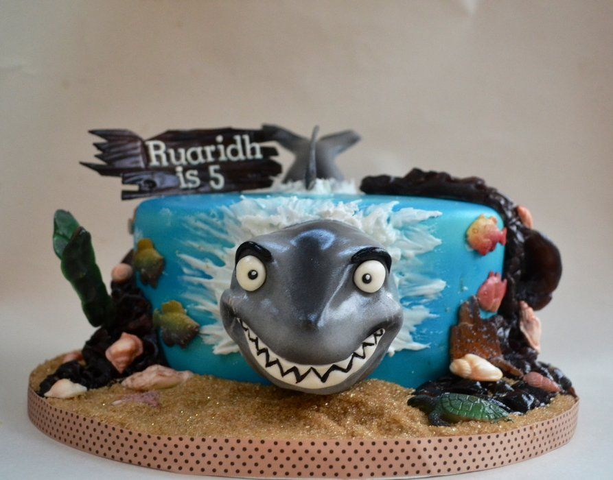 Pirate Shark Cake Google Search Event Planning Pirate Shark