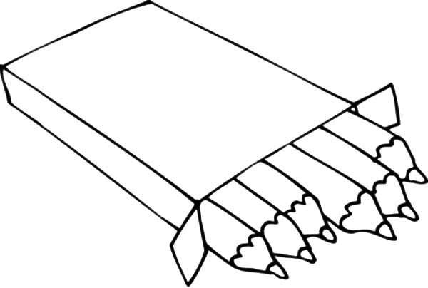 Sharped Point Box Crayons Coloring Pages Best Place To Color Coloring Pages Crayon School Coloring Pages