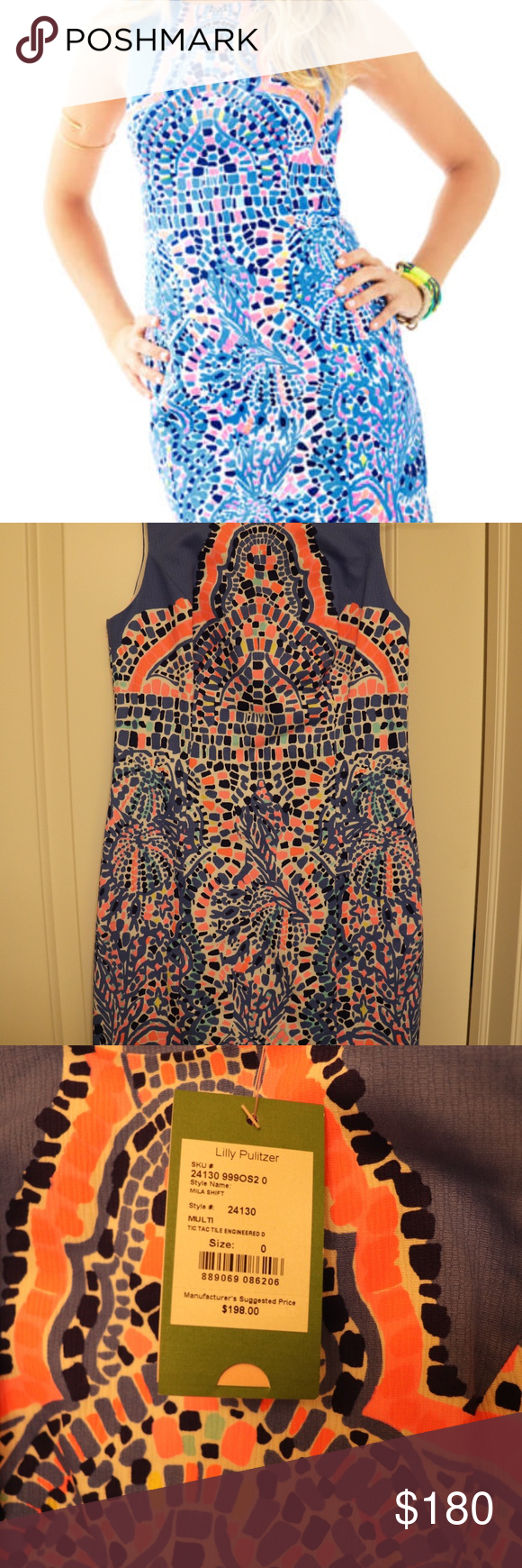 d1b42cf4e6375f Lilly Pulitzer Mila Shift Dress in Tic Tac Tile This dress is even cuter in  person