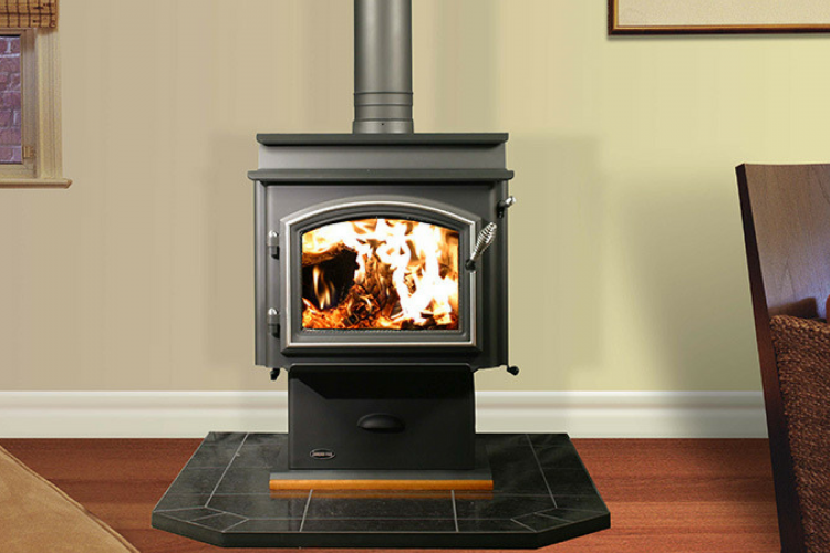 Jetmaster Quadra Fire 3100 Step Top Freestanding Wood Burning Fireplace Wood Stove Freestanding Fireplace Wood Burning Fireplace
