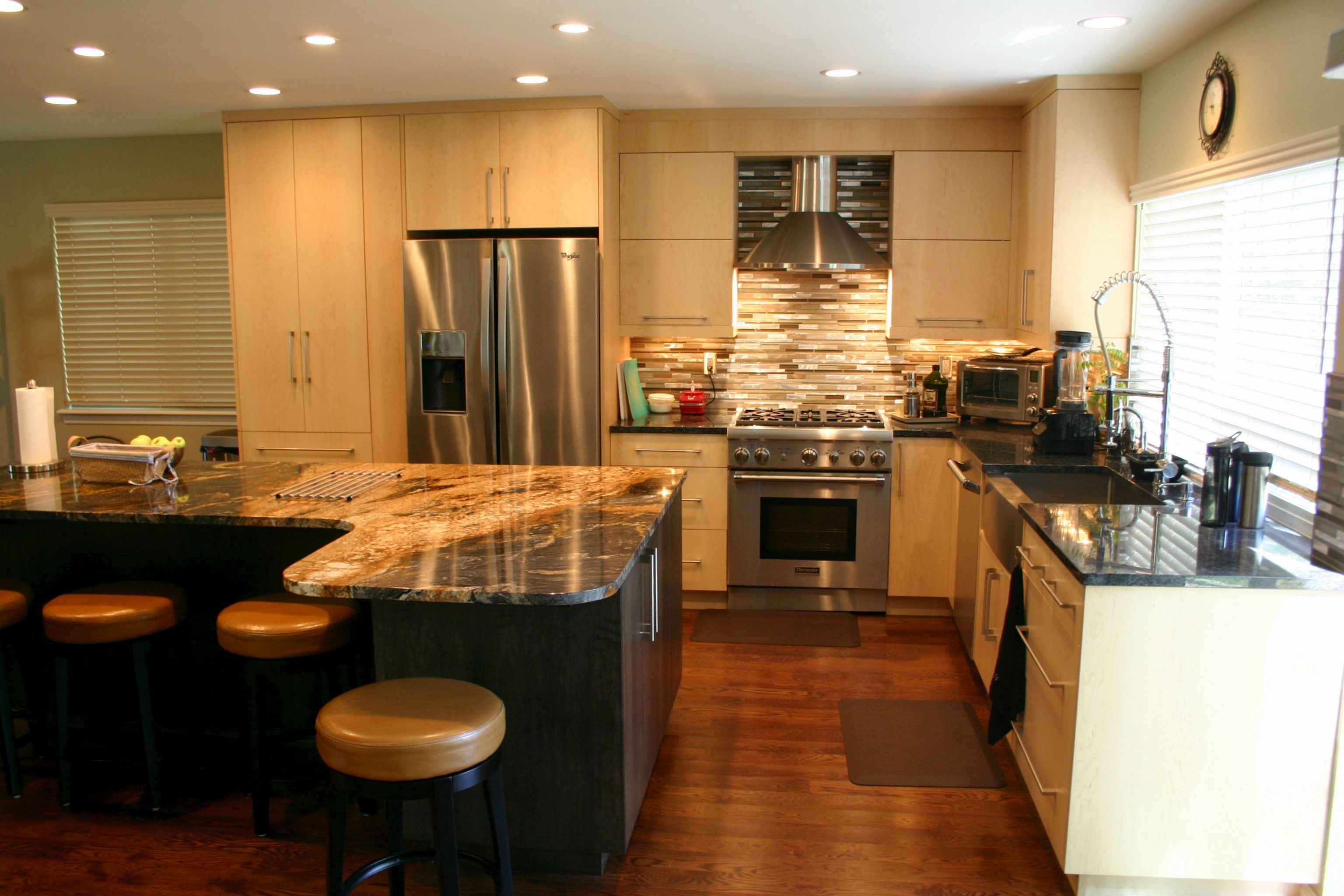 BKC Kitchen and Bath Denver kitchen remodel - Crystal Cabinet Works ...