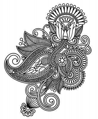 Henna Clipart Galeria Y La Realeza De Henna Vectores Gratis Doodle