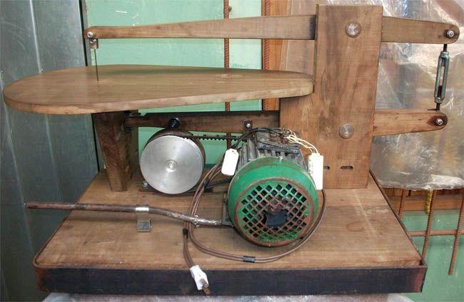 Caladora artesanal sierra de calar casera diy - Sierra para taladro ...
