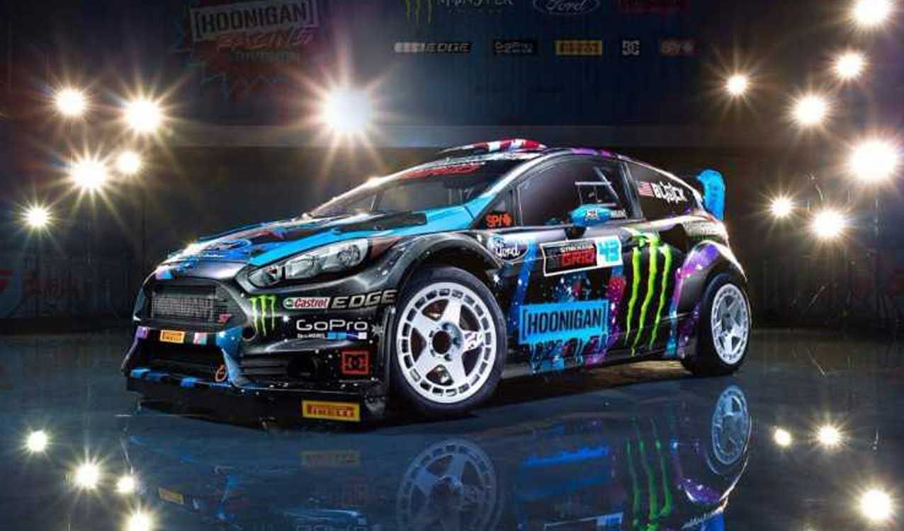 Ken Block S Ford Fiesta Rally Car Up For Sale Celebrity Cars