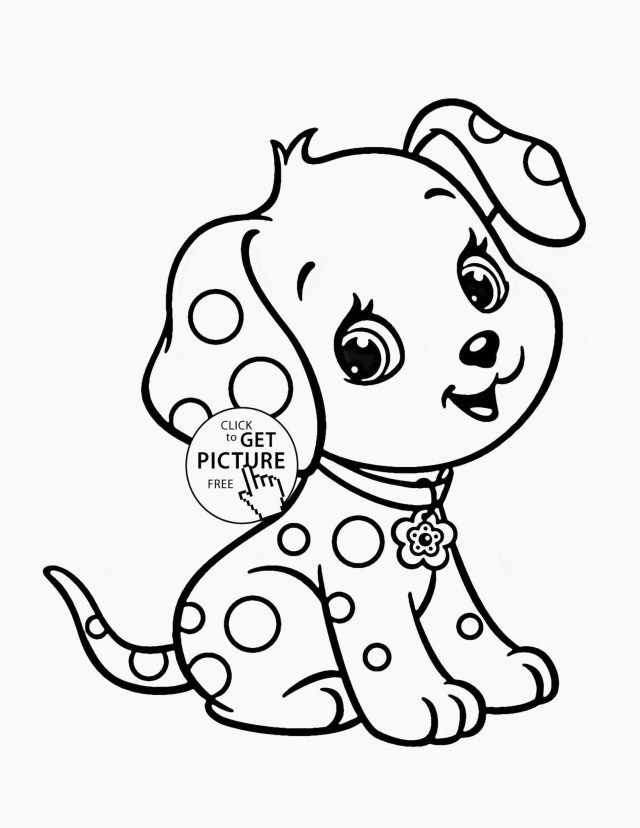 Exclusive Image Of Coloring Pages For 3 Year Olds - Entitlementtrap.com  Puppy Coloring Pages, Animal Coloring Books, Dog Coloring Page