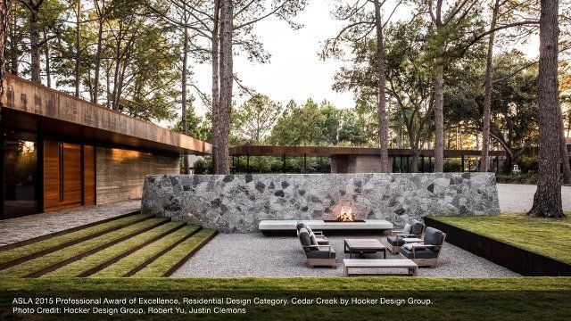 sustainable design is the big trend for residential landscapes according to the 2016 residential landscape - Garden Design Trends 2015