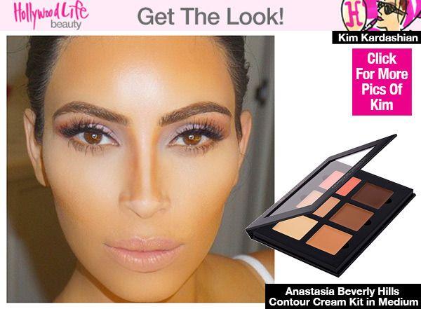 Kim Kardashian\'s Contour Secrets — Shares Makeup Tricks For ...