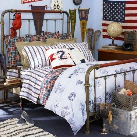 Ralph Lauren Home University Bedding