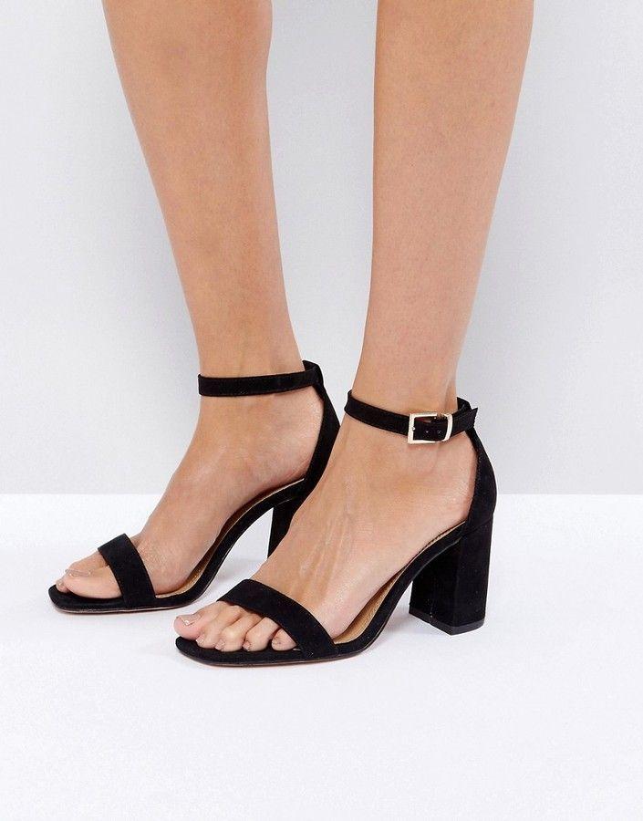 5b73631aaf8 Asos HAYDEN Block Heeled Sandals