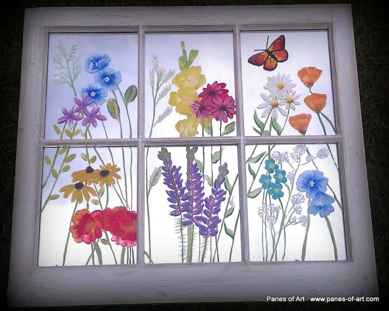 Pin By Kelsey Dunfee On Art Projects Painted Window Panes Window Painting Window Art