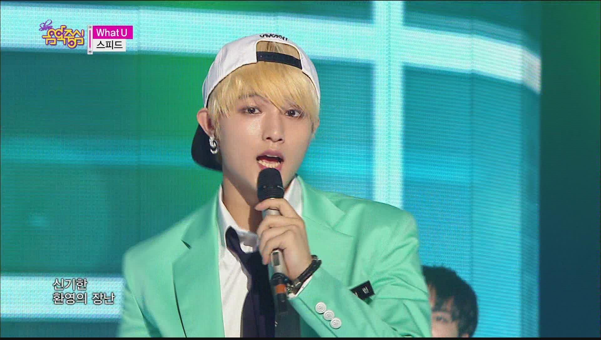 [HOT] SPEED - What U, 스피드 - 왓 유, Show Music core 20150606