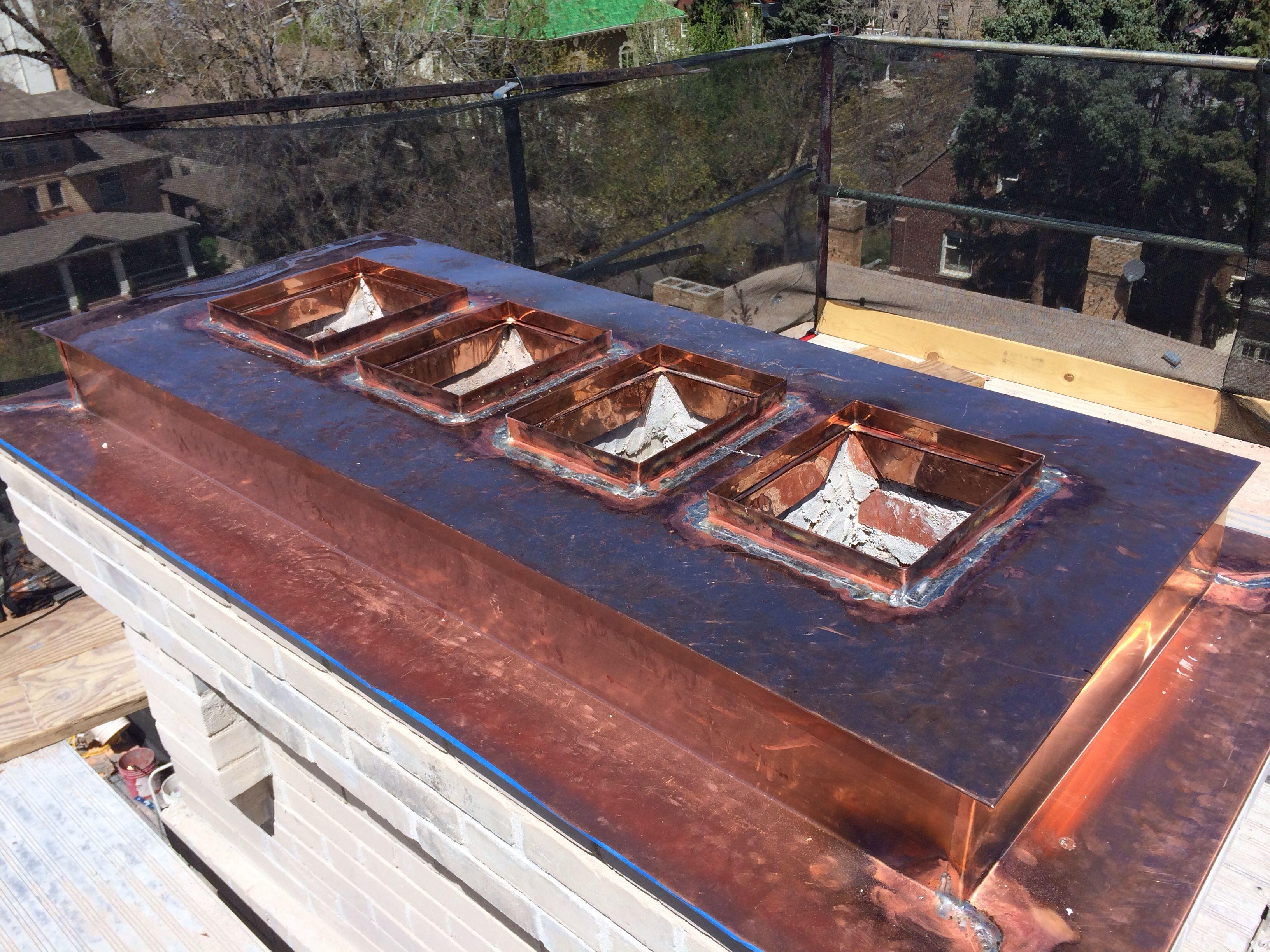 Chimney cap and restoration chimney cap pallet coffee