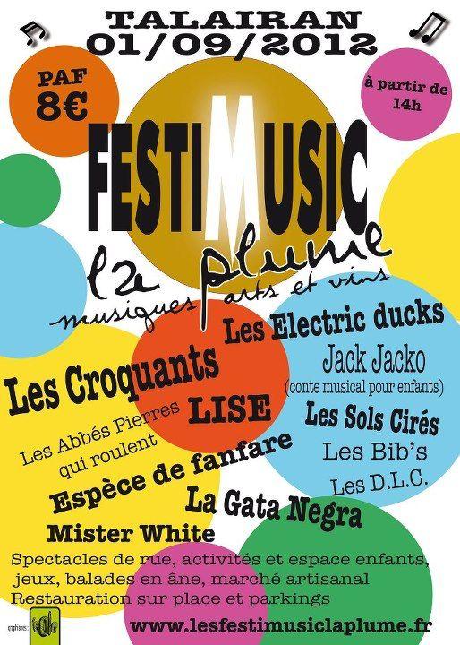 FestiMusic à Talairan le 01/09/2012