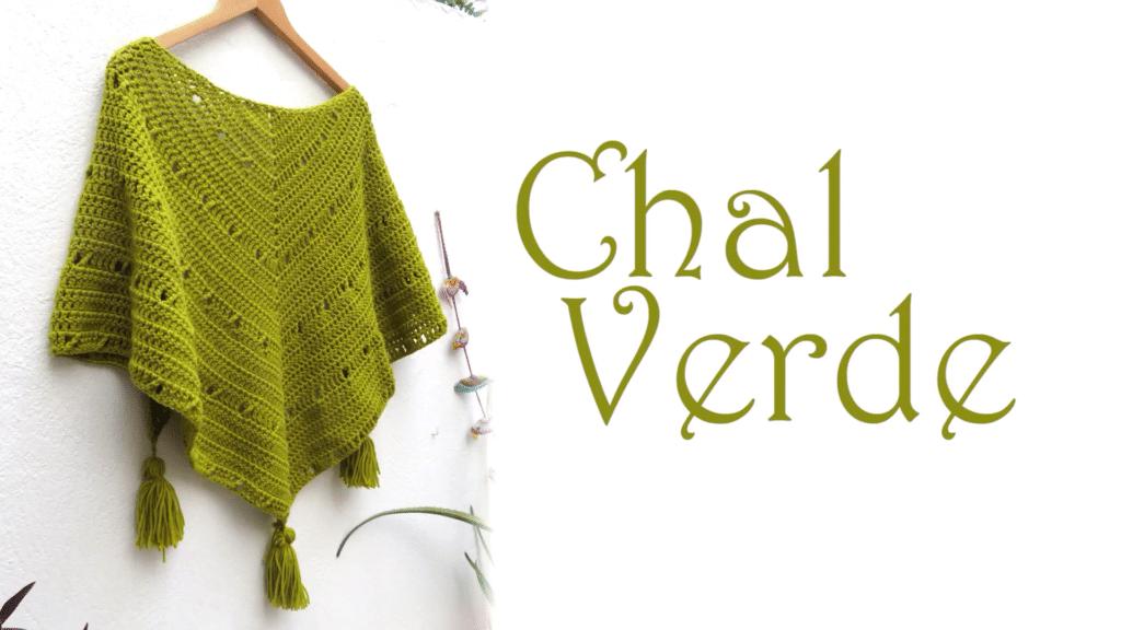 Chal sencillo a crochet, se hace rápido y sin dificultad..el color ...