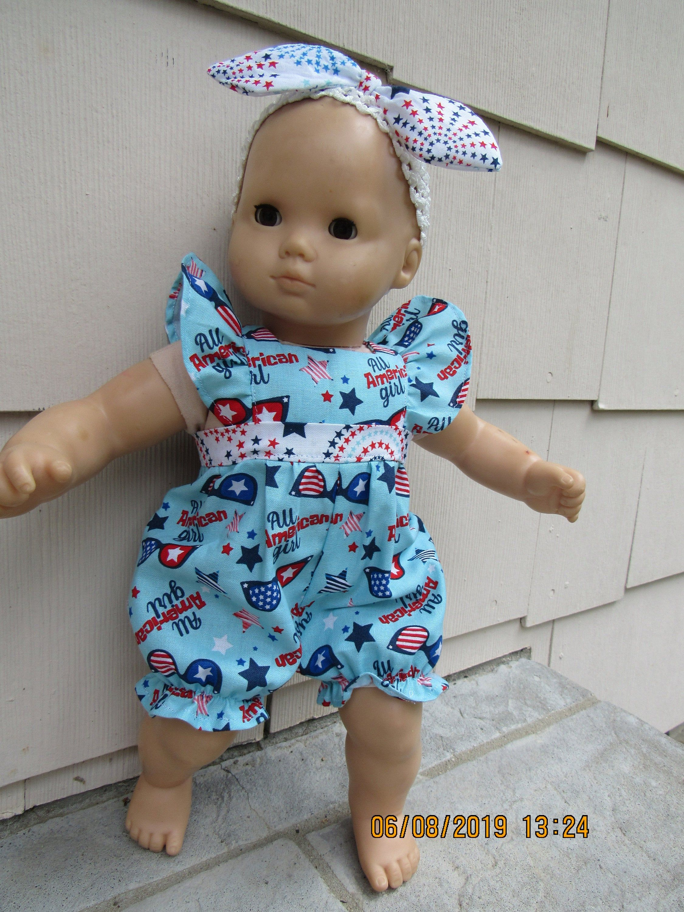 Proud Of The Red White Blue Doll Clothes Fits 15 Inch Etsy Bitty Baby American Girl Bitty Baby Clothes Bitty Baby