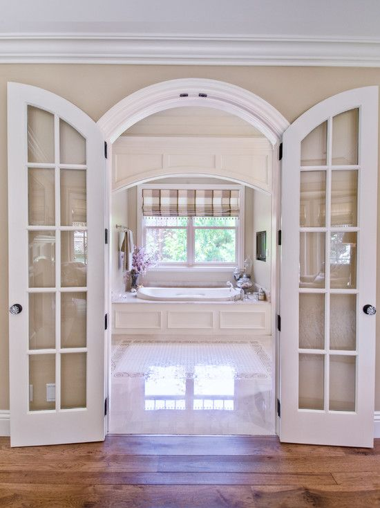 Adorn Your Rooms With Arched French Doors Interior Breathtaking Custom Interior Arched French