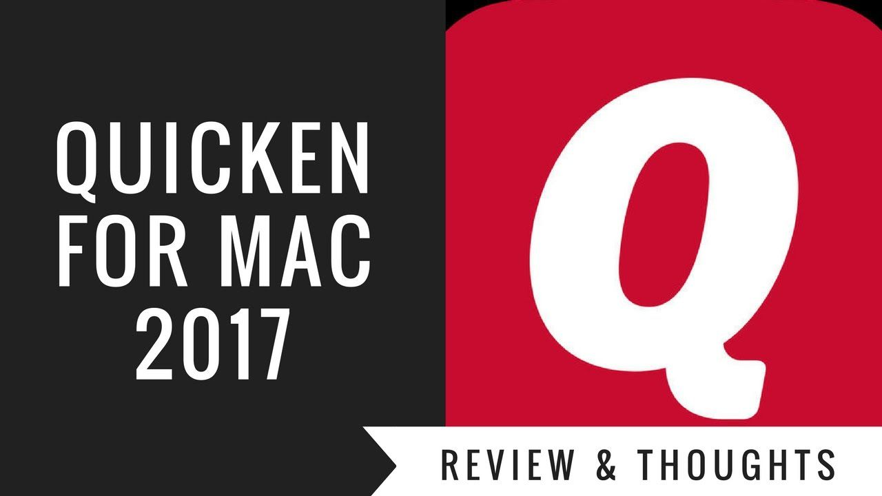 Quicken For Mac 2017 Review
